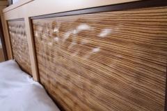 Ambient Wave Bed in Zebra Wood by Jarrett Maxwell - Geometric Innovations LLC-004