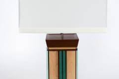 Aqua Undertone Lamps by Jarrett Maxwell - Geometric Innovations LLC-001