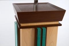Aqua Undertone Lamps by Jarrett Maxwell - Geometric Innovations LLC-002