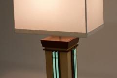 Aqua Undertone Lamps by Jarrett Maxwell - Geometric Innovations LLC-004