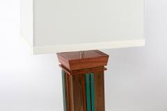 Aqua Undertone Lamps by Jarrett Maxwell - Geometric Innovations LLC-005