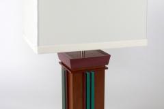 Aqua Undertone Lamps by Jarrett Maxwell - Geometric Innovations LLC-006