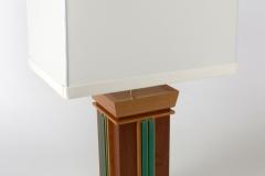 Aqua Undertone Lamps by Jarrett Maxwell - Geometric Innovations LLC-007
