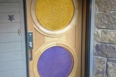 Art Glass Entry Door by Jarrett Maxwell & Bill Hawk - Geometric Innovations LLC-001