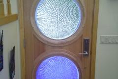 Art Glass Entry Door by Jarrett Maxwell & Bill Hawk - Geometric Innovations LLC