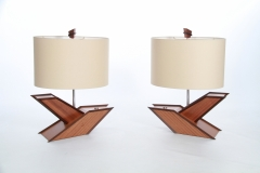 Bird of Paradise Lamp by Jarrett Maxwell - Geometric Innovations LLC-003