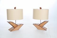 Bird of Paradise Lamp by Jarrett Maxwell - Geometric Innovations LLC-005