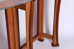 Crescent Bar Table by Jarrett Maxwell - Geometric Innovations LLC-001