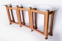 Crescent Bar Table by Jarrett Maxwell - Geometric Innovations LLC-002