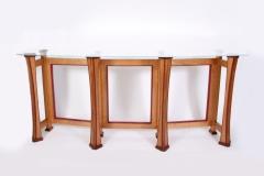 Crescent Bar Table by Jarrett Maxwell - Geometric Innovations LLC