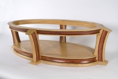 Ellipse Coffee Table by Jarrett Maxwell - Geometric Innovations LLC