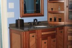 Exotic Hardwood Vanity by Jarrett Maxwell - Geometric Innovations LLC-001