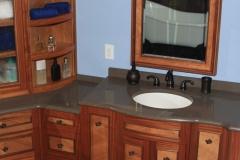 Exotic Hardwood Vanity by Jarrett Maxwell - Geometric Innovations LLC-002