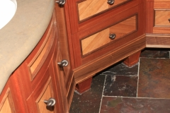 Exotic Hardwood Vanity by Jarrett Maxwell - Geometric Innovations LLC-005