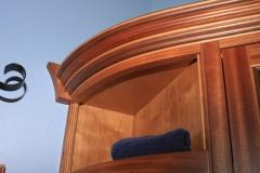 Exotic Hardwood Vanity by Jarrett Maxwell - Geometric Innovations LLC-006
