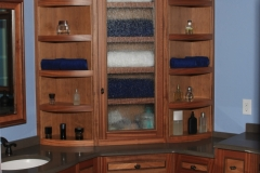 Exotic Hardwood Vanity by Jarrett Maxwell - Geometric Innovations LLC