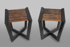 Industrial Infinity Table Set by Jarrett Maxwell - Geometric Innovations LLC-004