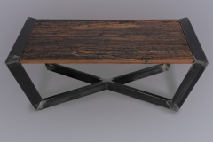 Industrial Infinity Table Set by Jarrett Maxwell - Geometric Innovations LLC