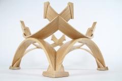 Intersection Coffee Table by Jarrett Maxwell - Geometric Innovations LLC-005