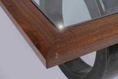 Modern Medieval Dining Table by Jarrett Maxwell - Geometric Innovations LLC-001