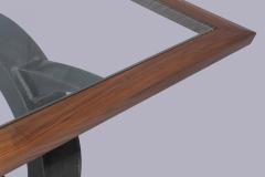 Modern Medieval Dining Table by Jarrett Maxwell - Geometric Innovations LLC-002