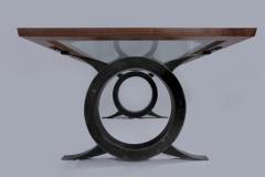 Modern Medieval Dining Table by Jarrett Maxwell - Geometric Innovations LLC-003