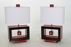 Rectangle Table Lamp by Jarrett Maxwell - Geometric Innovations LLC-003
