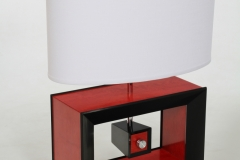 Rectangle Table Lamp by Jarrett Maxwell - Geometric Innovations LLC-004
