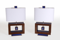 Rectangle Table Lamp by Jarrett Maxwell - Geometric Innovations LLC