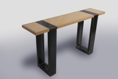 Triptych Hall Tables by Jarrett Maxwell - Geometric Innovations LLC-003