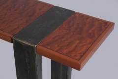 Triptych Hall Tables by Jarrett Maxwell - Geometric Innovations LLC-004