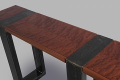 Triptych Hall Tables by Jarrett Maxwell - Geometric Innovations LLC-005