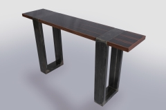 Triptych Hall Tables by Jarrett Maxwell - Geometric Innovations LLC-006