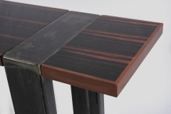 Triptych Hall Tables by Jarrett Maxwell - Geometric Innovations LLC-007