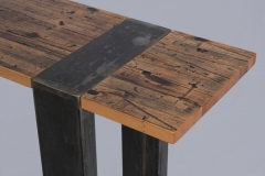 Triptych Hall Tables by Jarrett Maxwell - Geometric Innovations LLC