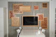 Warhall Display Wall by Jarrett Maxwell - Geometric Innovations LLC